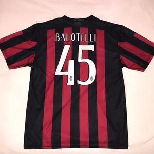 Men's L Mario Balotelli AC Milan Jersey
